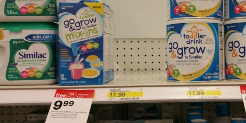 Target: Three FREE Similac Go & Grow Mix-Ins (After Gift Card and Ibotta)