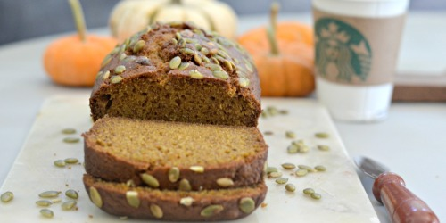 Love Starbucks Pumpkin Bread? Get the Copycat Recipe