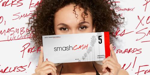 Smashbox Rewards Members: Switch to New Loyalty Program = $10 In Smashcash (Check Your Inbox)