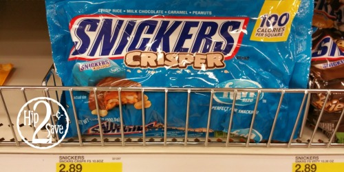 Target: Snickers Fun Size Chocolate Bars As Low As 82¢ Per Bag (After Checkout51)
