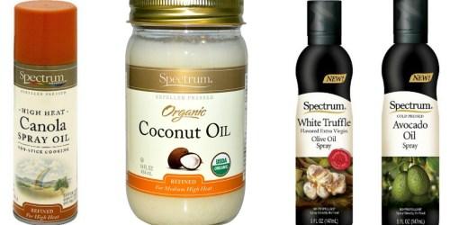 Target: Nice Deals on Spectrum Cooking Oils