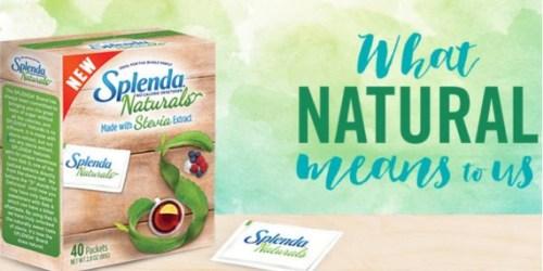 FREE Splenda Sample, Coupon & Recipe Cards