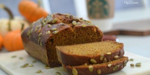 Love Starbucks Pumpkin Bread? Get the Copycat Recipe