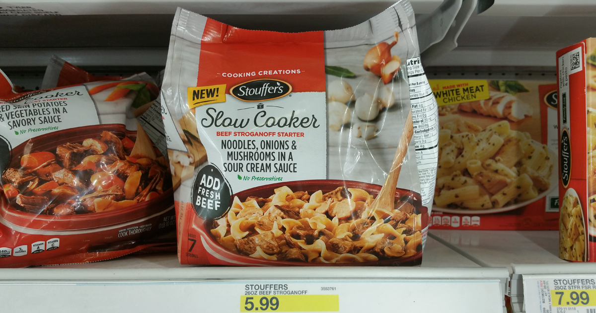 photo regarding Stouffers Coupons Printable named Focus: Stouffers Gradual Cooker Entrees Simply just $1.89 (Constantly