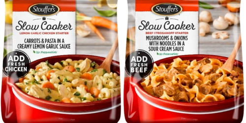 NEW $2/1 Stouffer's Slow Cooker Starters Coupon = Only $3.69 At Target (Regularly $5.99)