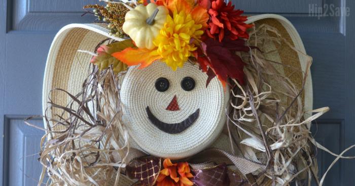 straw-hat-scarecrow-wreath-hip2save