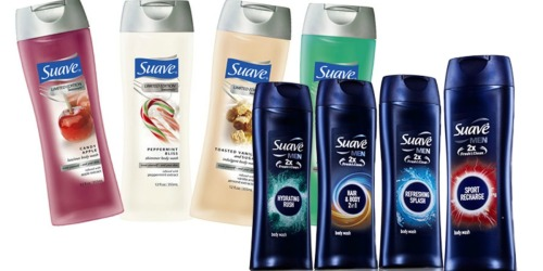 Target.com: Suave Body Wash Only $1.25 (After Gift Card)