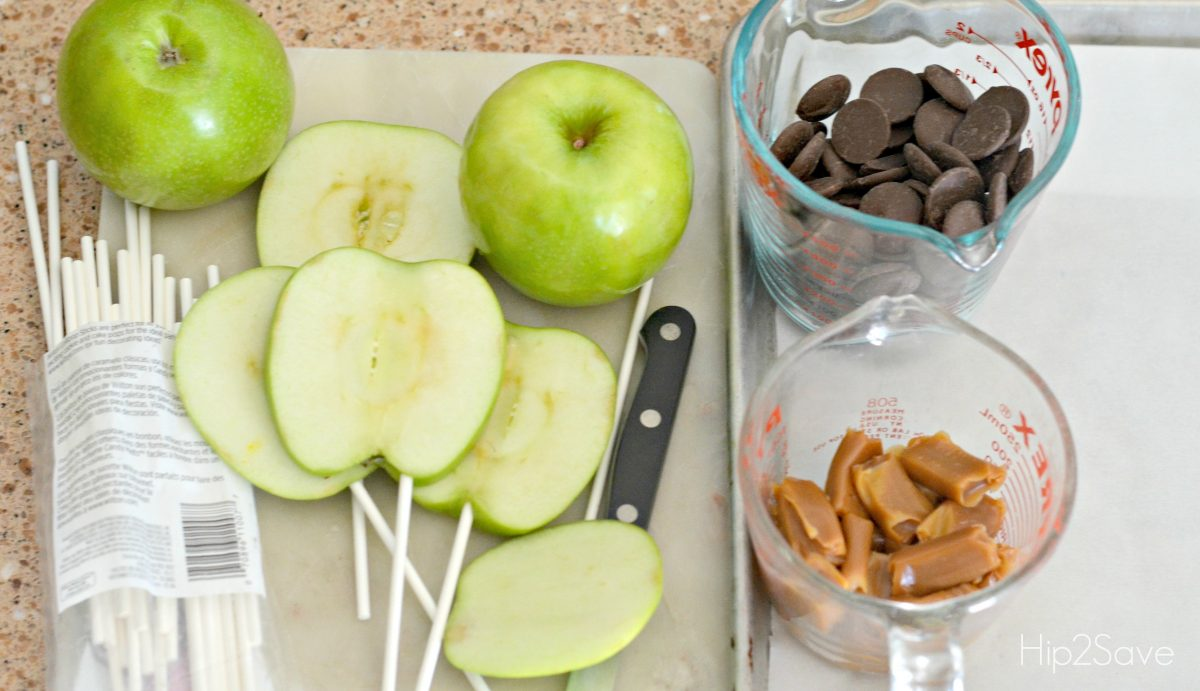 supplies-to-make-sliced-caramel-apples