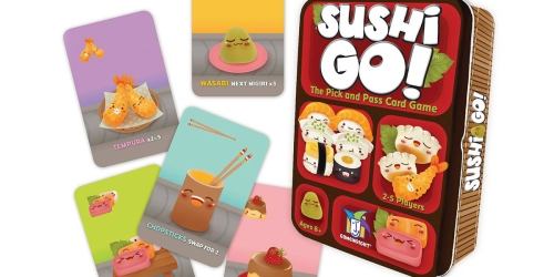 Target: Sushi Go! Card Game Only $7.11 Shipped