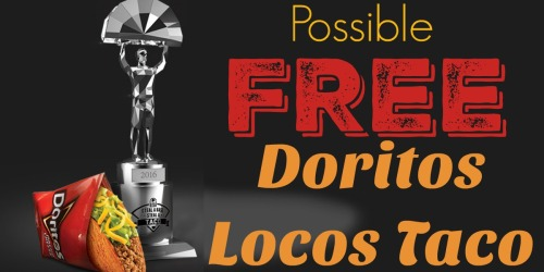 Taco Bell: Possible FREE Doritos Locos Taco During MLB World Series