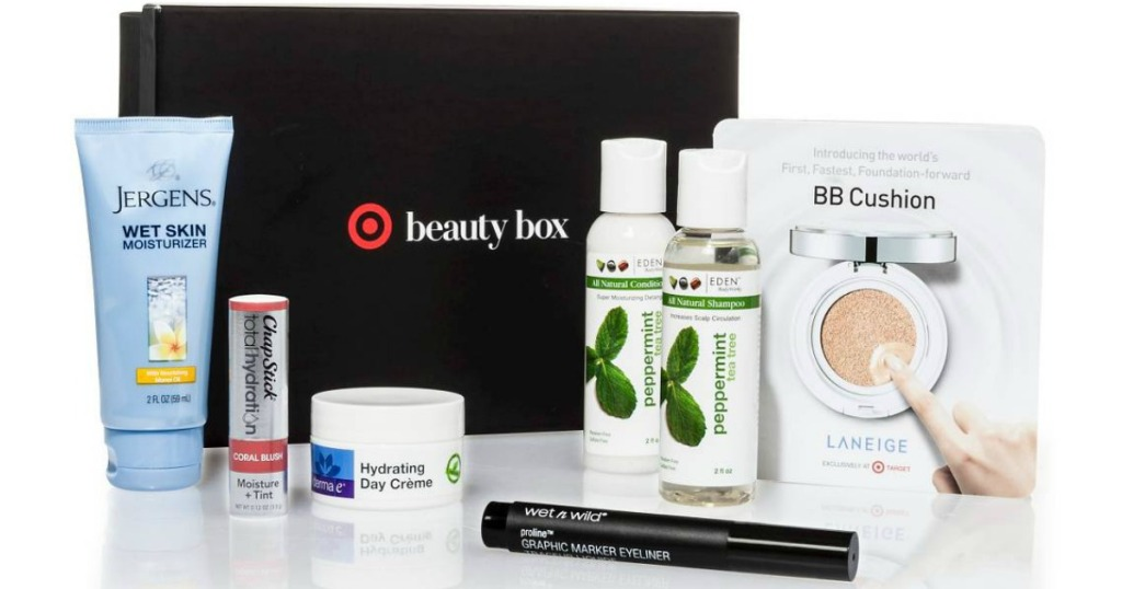 target-october-beauty-box