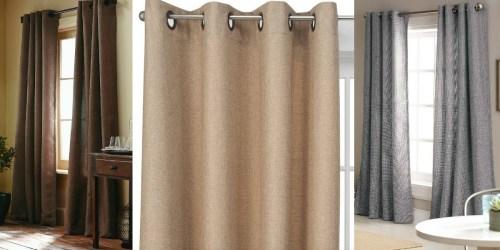 Target.com: 40% Off Select Window Items = Basketweave Curtain Panels Just $16.19 (Reg. $29.99)