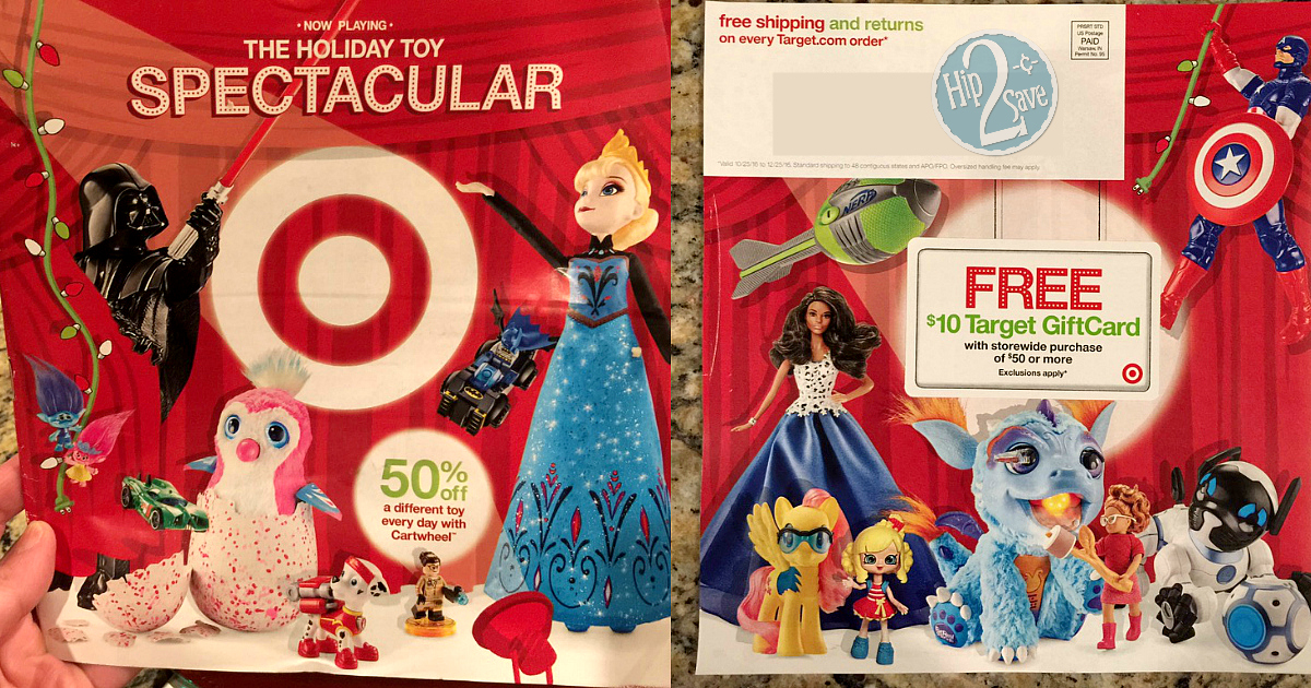 Christmas Toy Catalogs By Mail.Check Your Mailbox For Target S 2016 Holiday Toy Catalog