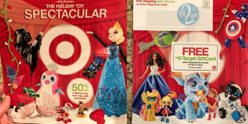 Check Your Mailbox for Target's 2016 Holiday Toy Catalog + Possible $10 Gift Card w/ $50 Purchase