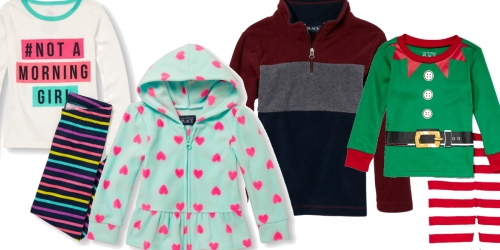The Children's Place: Fleece Pullovers, Jackets, Denim, Pajama Sets & More Under $8.50 Shipped