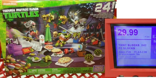 Target: Mega Bloks Teenage Mutant Ninja Turtles Advent Calendar Only $14.99 (Reg. $29.99)