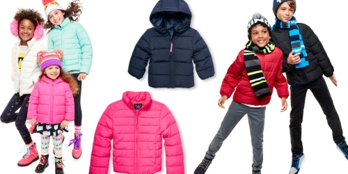 The Children's Place: Toddler & Kids' Puffer Jackets Just $19.99 Shipped (Regularly $49.95)