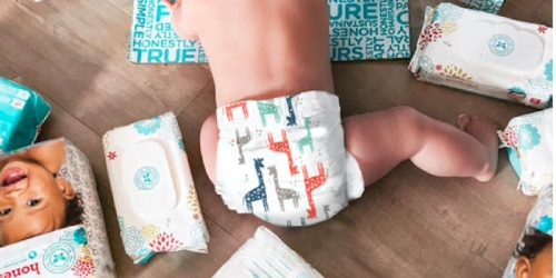The Honest Company: 40% Off First Bundle = 6 Packs of Diapers AND 4 Packs of Wipes $48 Shipped