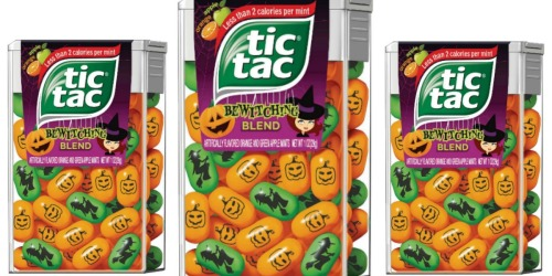 *NEW* Buy 1 Get 1 FREE Tic Tac Mints Coupon = Bewitching Blend Only 50¢ Each at Target