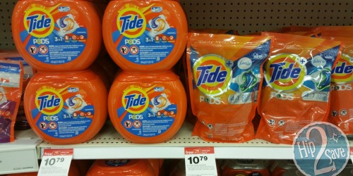 Target: Tide Pods 42 Count Pack Only $3.91 at Target (After Gift Card)