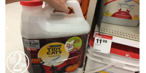 Target: 40% Off Purina Tidy Cats Halloween Cat Litter = As Low As $3.99 (Regularly $12.79)