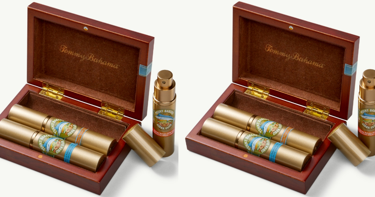 tommy bahama compass gift set