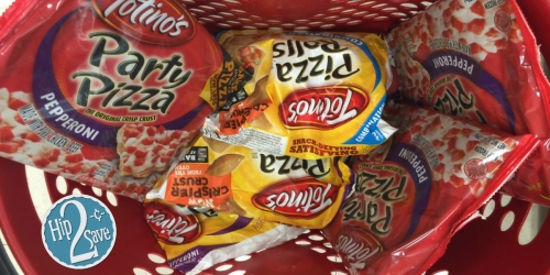 New $1/4 Totino's Crisp Crust Party Pizzas Coupon = ONLY 73¢ Per Pizza at Target