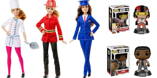 ToysRUs: Buy 1 Get 1 50% Off Action Figures & Dolls = Barbie Career Dolls $5.24 Each Shipped