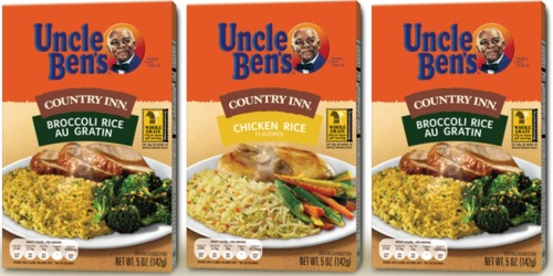 Two *NEW* Uncle Ben's Coupons = Country Inn Rice Only 45¢ at Target