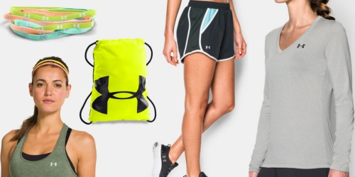 Under Armour: Rare Free Shipping on ANY Order = $5.99 Headbands, $8.99 Bags, $14.99 Shorts & More