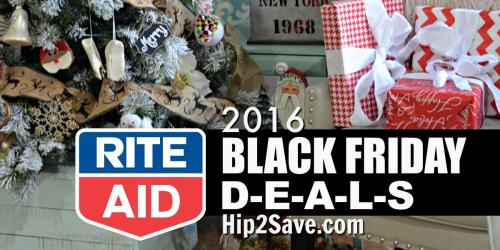 Rite Aid: Black Friday Deals (11/24-11/26)