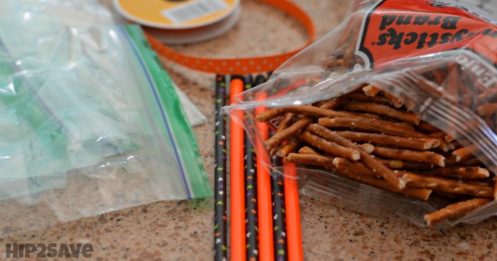 DIY Halloween Broomsticks