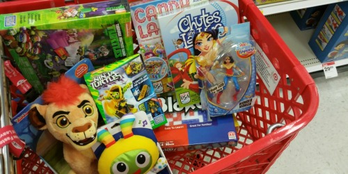 Target Shoppers! Score *HOT* Toy Savings on Barbie, DC Dolls & Tegu Wooden Blocks…