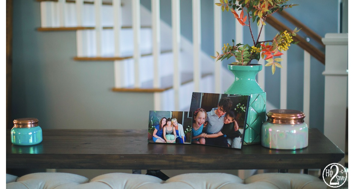 75% Off Wood Photo Panels + Free Walgreens In-Store Pickup
