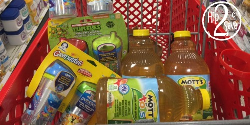 Target Shoppers! Nice Buys on Gerber Sippy Cups, Mott's Juice, Stonyfield Yogurt & More