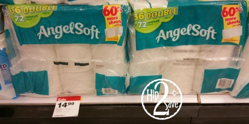 Target Shoppers! Save Big on Angel Soft Toilet Paper, Seventh Generation Laundry Detergent & More