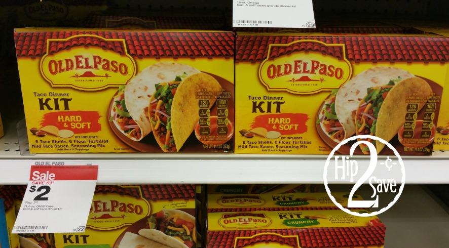 Old El Paso Taco Dinner Kit Target
