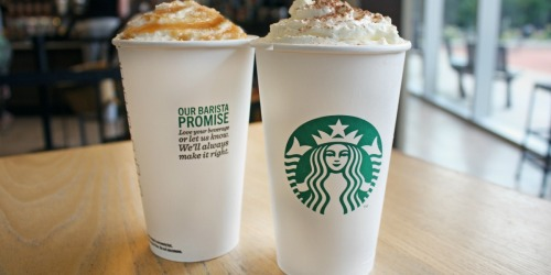 Target Shoppers! Rare Starbucks Cafe Cartwheel Offers for Seasonal Espresso Drinks, Pastries & More