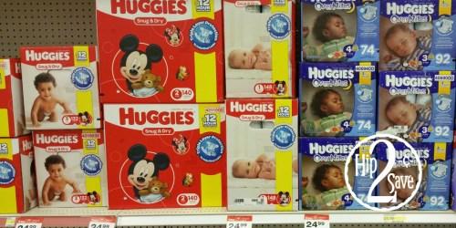 NEW $4/2 Huggies Snug & Dry Diapers Coupon = Stock up at Target & CVS