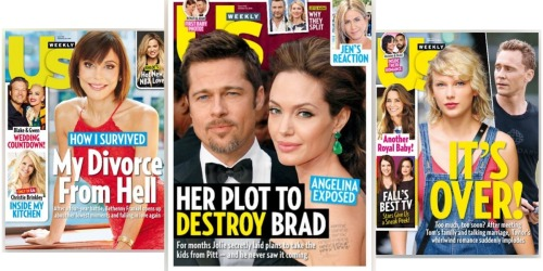 Would You Like 78 Free Issues of US Weekly Magazine? We Can Make That Happen!