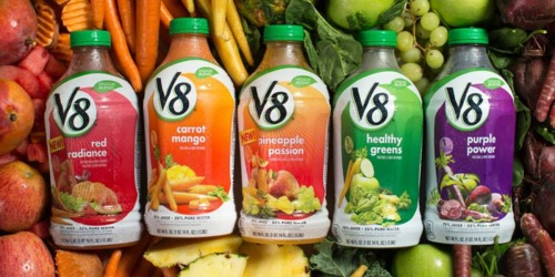 New V8 Juice Coupons = V8 Veggie Blends 46-oz Bottles Only $1.66 at Target