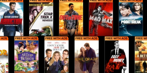 VUDU Movies on Us: Stream Thousands of Movies Completely FREE