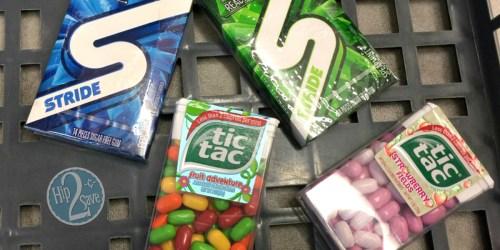 Walgreens: Stride Gum & Tic Tacs Just 25¢ Each