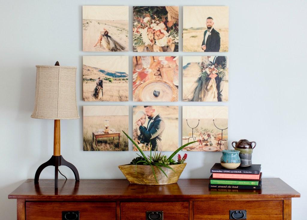PhotoBarn wall-collage