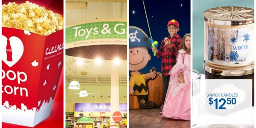 T.G.I.F! Free Popcorn at Cinemark, Free Halloween Storytime & Events + More