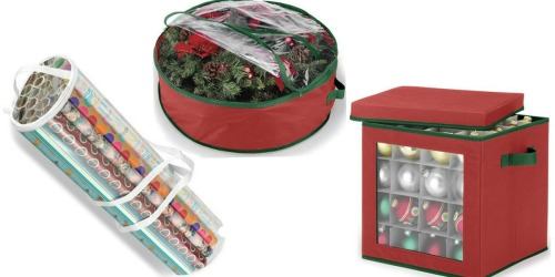Kohl's: $10 Off $50 Home Purchase = Great Buys on Holiday Storage Boxes & Organizers