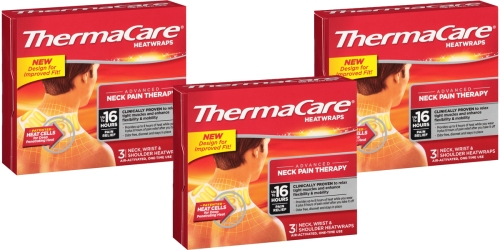 Amazon: NINE ThermaCare Heat Wraps Only $8.54 Shipped (Just 95¢ Per Wrap)