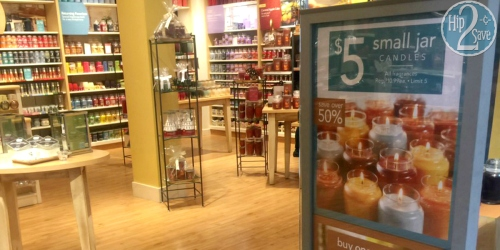 Yankee Candle: $10 Off $10 Purchase Coupon (Possibly Score 2 FREE Small Jar Candles!)