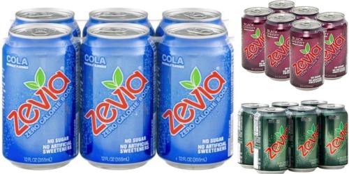 New $1/2 Zevia Zero Calorie Soda Coupon = 6-Packs Only $2.30 Each at Target