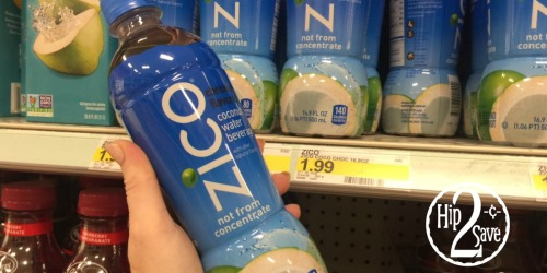 Target: FREE ZICO Chocolate Coconut Water After Ibotta (+ Nice Deal on Siggi's Yogurt)